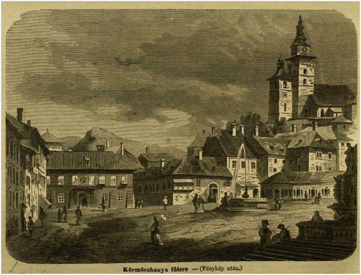 Kremnica - Kremnitz, - Körmöcbánya.