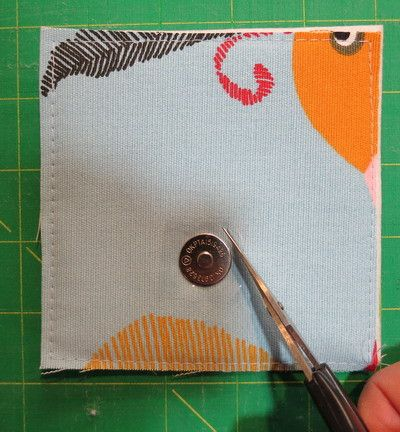 Magnetic Snap Application Tutorial | Among Brenda's Quilts