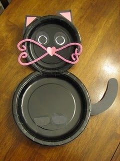 Easy cat craft for kids!
