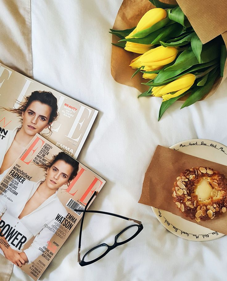 Mornings in Bed | Elle UK & Elle Hungary issues