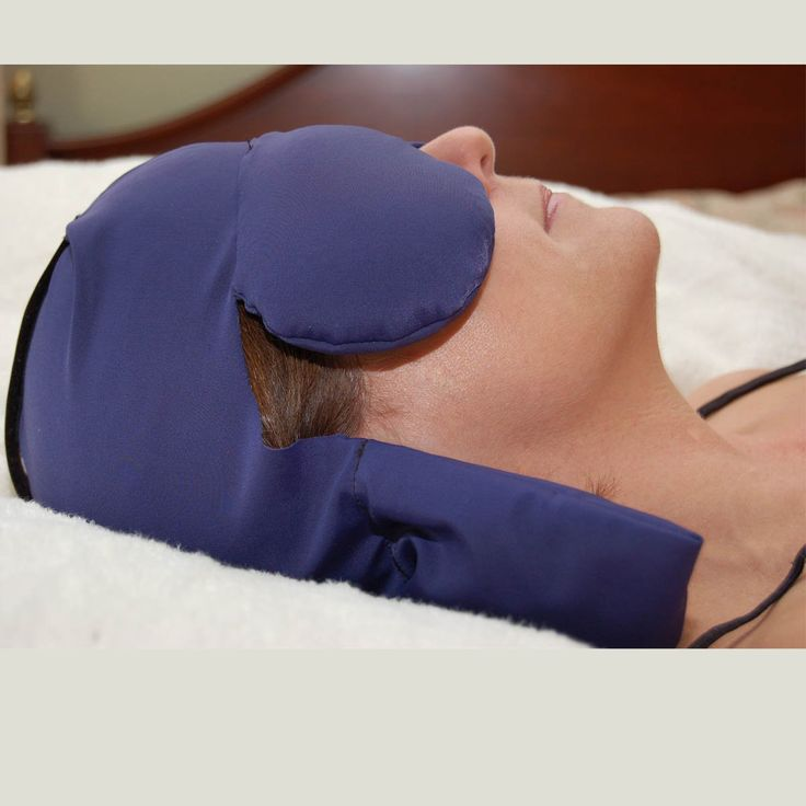 The Sinus & Migraine Cap is designed to gently cover sinus, temples, eyes & neck area. It stimulates acupressure points around sensitive eyes & neck w