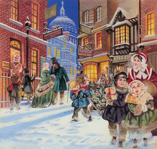 Bringing Old Fashioned Christmas Caroling To Ashview: 519 Best Images About Christmas Scenes On Pinterest
