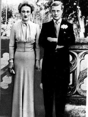 wallis simpson and Edward VIII   Fabulous royal wedding gowns   News.com.au