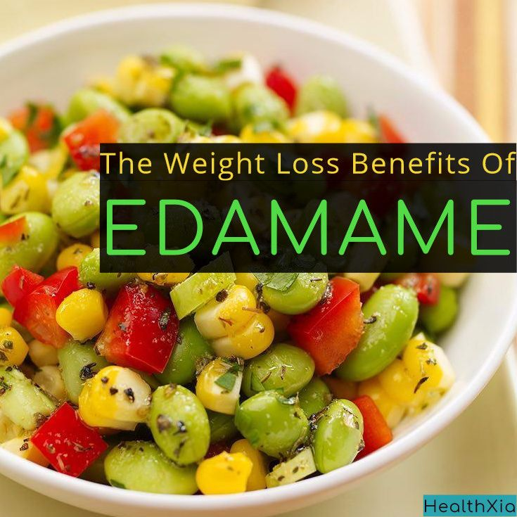 """Ta-ta, tofu! Edamame (pronounced """"ed-ah-MAH-may"""") is a better bet when it comes to the get-lean soybean. The lightly cooked, crunchy green soybeans, which you'll find either in or out of their pods, supply all the cholesterol-free protein of the"""