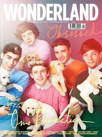 Puppies + One Direction = heaven?