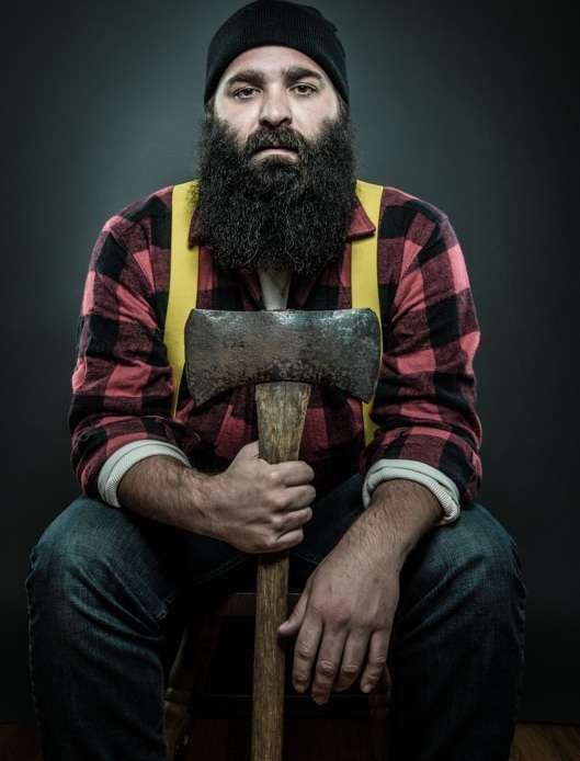Facial Hair Personality Portraits - Joseph D. R. Oleary Photographs the Types of Men with Beards (GALLERY)
