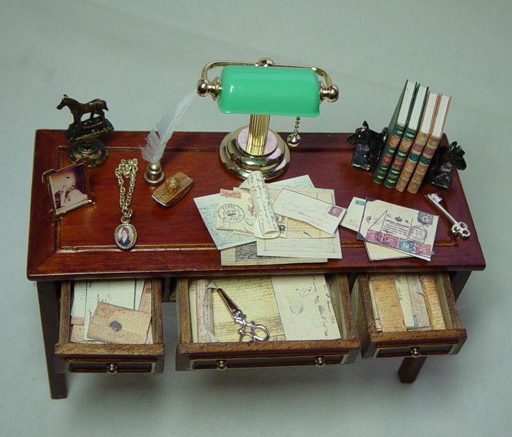 dollhouse miniature furniture. dollhouse miniature filled jiayi table and by uniqueminiatures furniture e