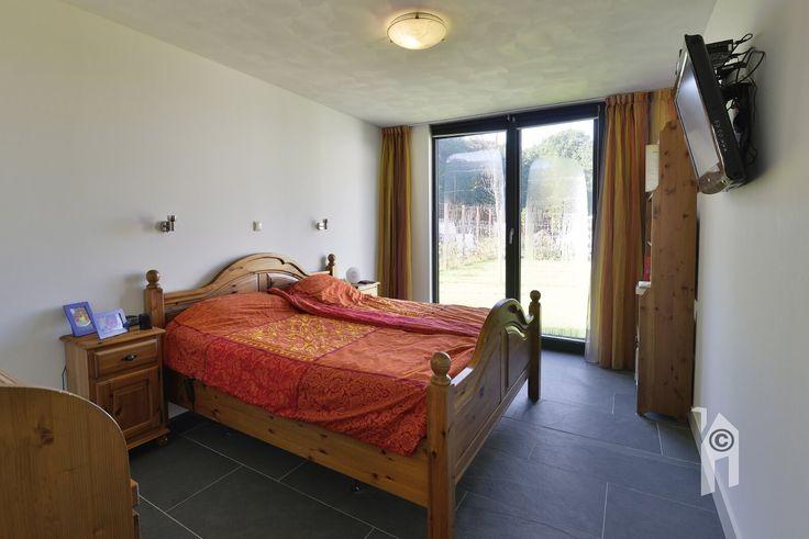 Slaapkamer in de Lessenaarswoning.
