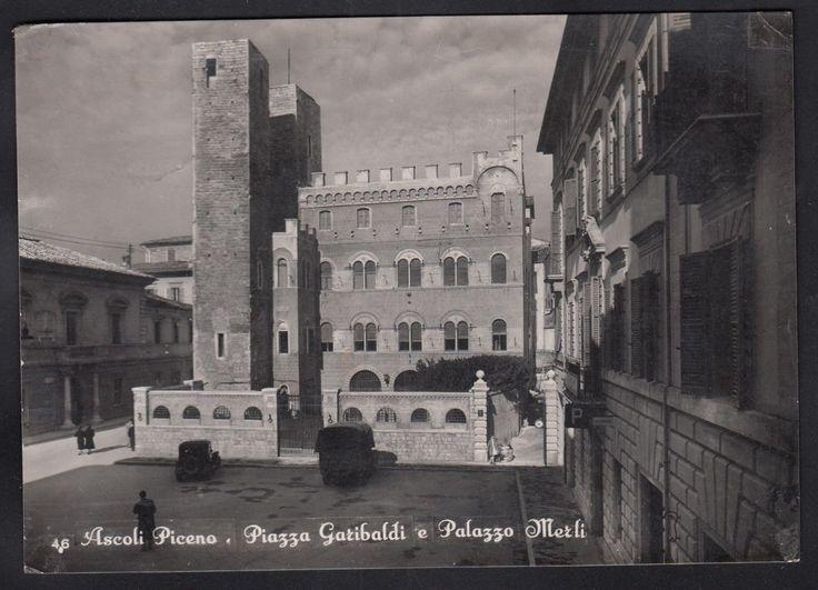 Ascoli Piceno Cartolina In Bianco E Nero Viaggiata Nel 1955 CAR11108   eBay
