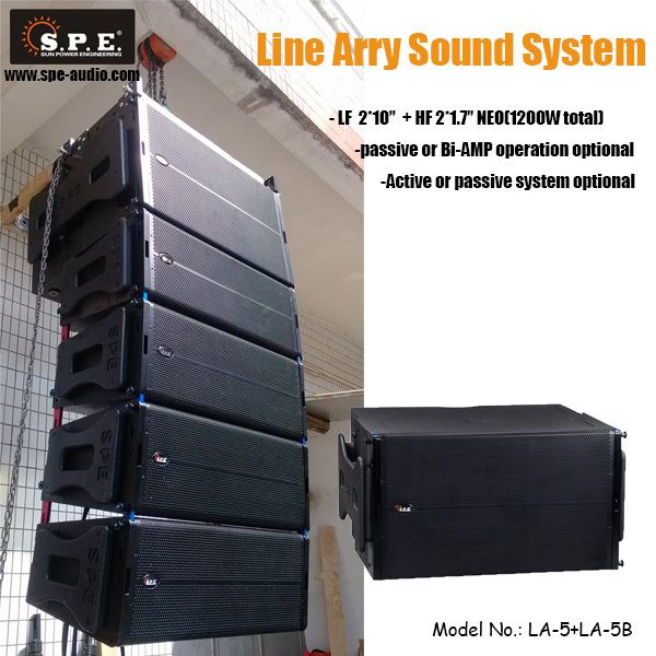 concert speakers system. spe audio line array speaker plans 2*10 inch array, view concert speakers system