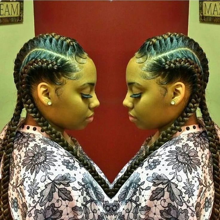 hair style 8 big corn row styles we are loving on corn 8587