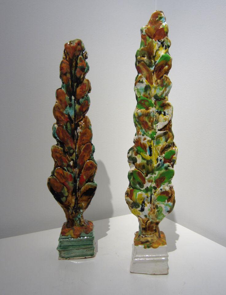 Madeleine Child - Poplar Trees (ceramic)