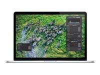 """Goutez à la qualité de l'écran Rétina du nouveau MacBook Pro !  Apple MacBook Pro MC975F/A MacBook Pro"""" ordinateur portable, processeur Intel Core i7 Quad-Core à 2.3 GHz/3.3 GHz Turbo, mémoire 8192 Mo, disque dur 256 Go, écran Retina 15"""", carte graphique HD Graphics 4000/GeForce GT 650M, Bluetooth, Wifi 802.11n, Ethernet Gigabit"""