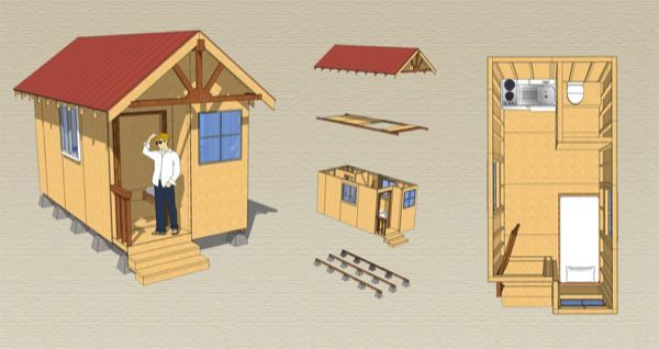 Fundraising for tiny house village to benefit homeless for Bangladesh village house design
