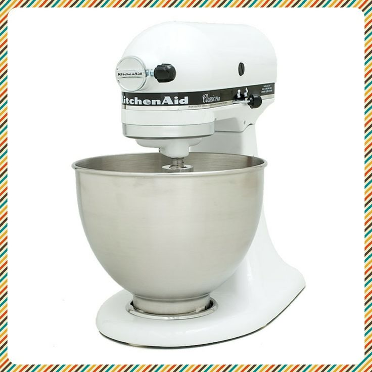 "FOR THE BAKER: Kitchenaid Classic Plus Stand Mixer. This mixer aced every test. Testers praised the ""intuitive"" controls and ""solid"" feel. While not as powerful as more expensive KitchenAid models, this mixer is a great value."
