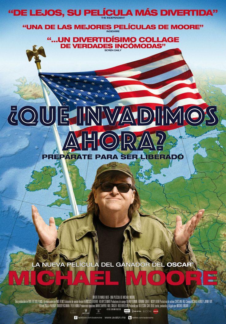 DVD DOC 299 - ¿Qué invadimos ahora? (2015) EEUU. Dir: Michael Moore. Documental. Política. Sinopse: nesta subversiva comedia o oscarizado director Michael Moore, xoga o papel de invasor, visitando unha infinidade de nacións para aprender como os EEUU poderían mellorar as súas propias perspectivas. As solucións aos problemas máis arraigados de EEUU xa existen no mundo. Simplemente están a esperar a ser utilizadas