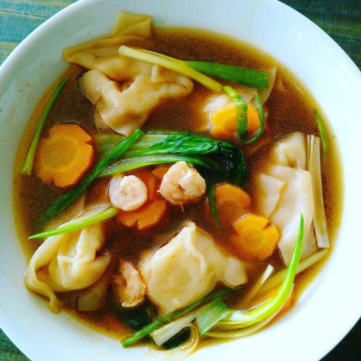 🌶🌶🌶 spicy wonton soup