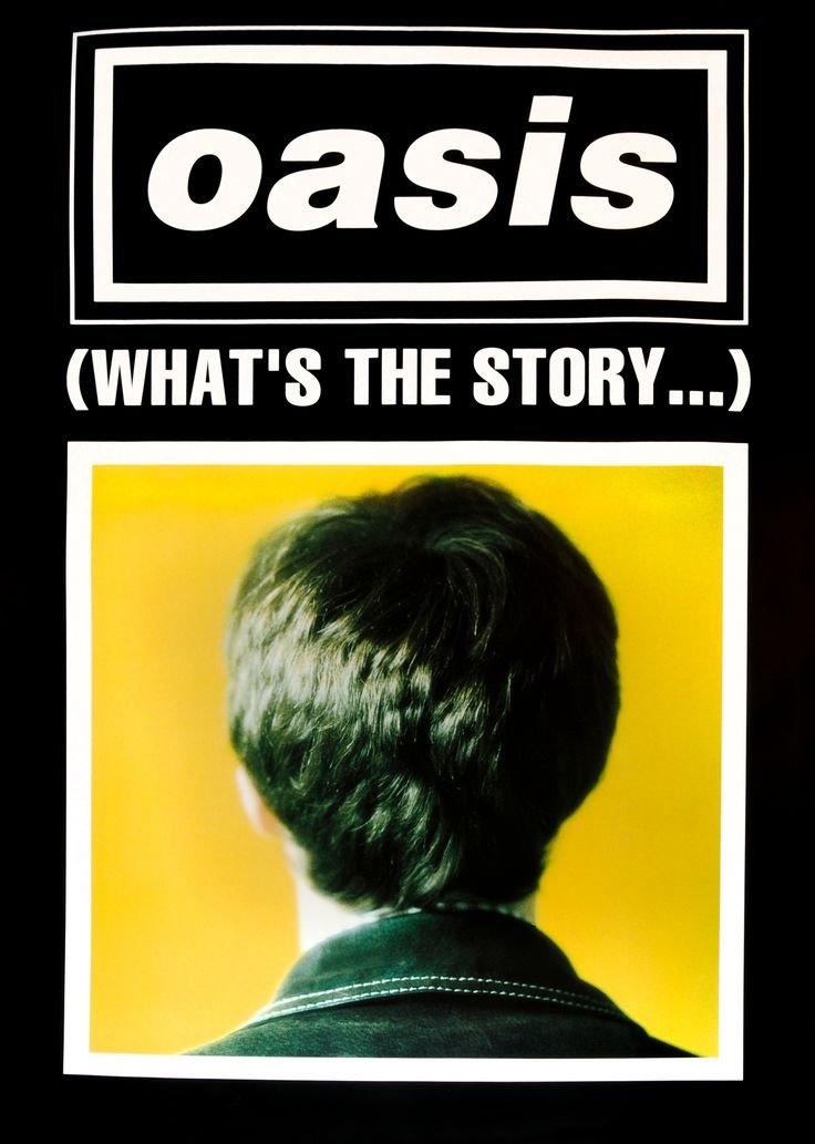 Oasis - Whats the story morning glory (black variant)