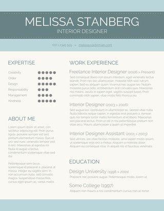 Modern Day Candidate CV