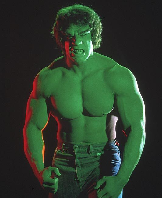 Something about The Incredible Hulk was fascinating to me ...