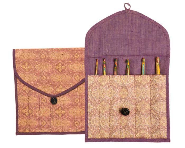 10780 Чехол для носочных спиц (15 см) и крючков Violet Dream-SC KnitPro
