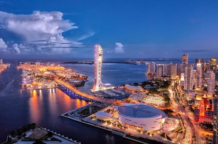 American Airlines Arena Miami FL #miami #florida #miamibeach #sobe #southbeach #brickell #Miami