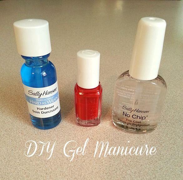 DIY} Gel Manicure | Beauty is hard work! | Pinterest