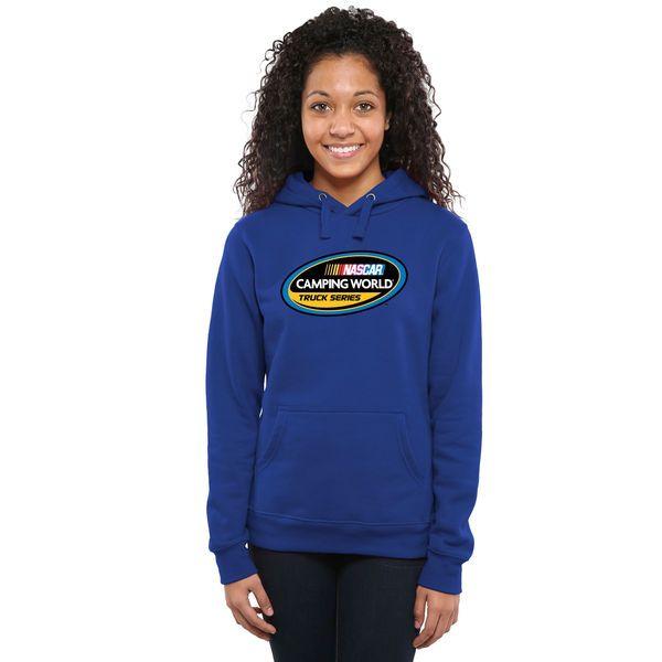 NASCAR Merchandise Women's Camping World Truck Series Pullover Hoodie - Royal Blue - $49.99