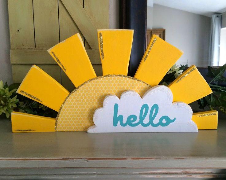 Wood you like to craft?: Hello Sunshine!- Sassy Sanctuary