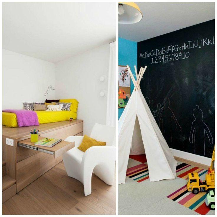 Tipi, tapis rayé et tableau noir ou bien un lit confortable et traditionnel pour…