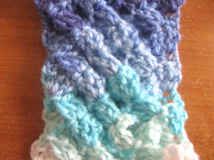 Crochet tutorial that teaches you how to do the Woven ...