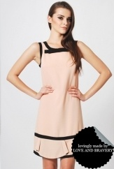 LAB DANIELA BOW DRESS PINK
