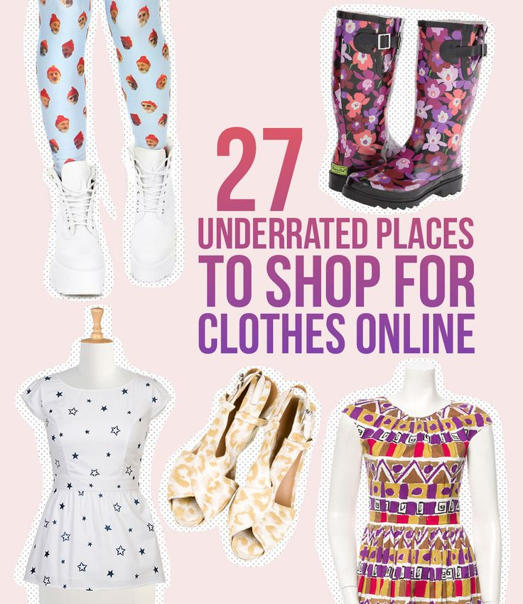 27 Totally Underrated Places To Shop For Clothes Online