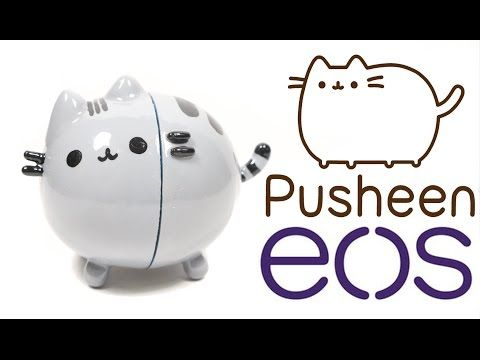DIY EOS Lip Balm: Pusheen Tutorial - YouTube