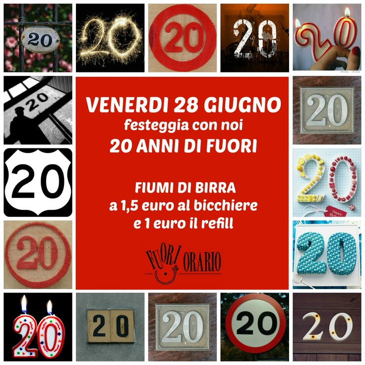 Buon compleanno, Fuori Orario!