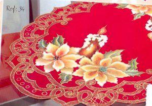 carpeta roja con velas 25 bs