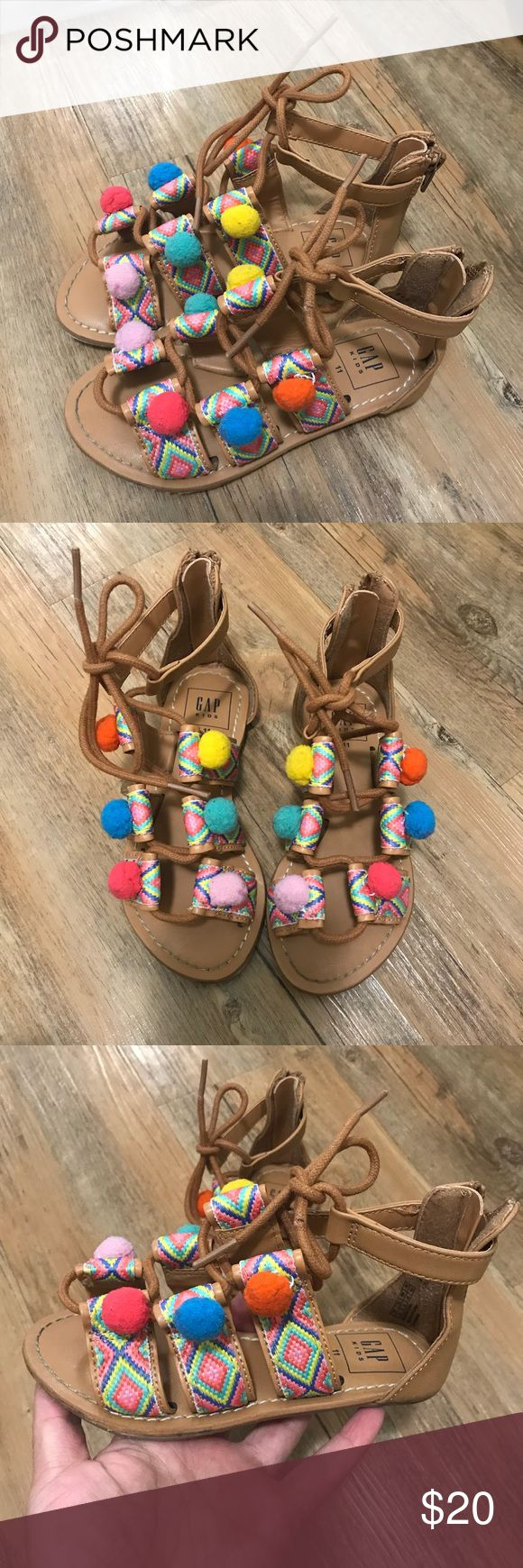 Gap kid sandals size 11c Worn once GAP Shoes Sandals & Flip Flops