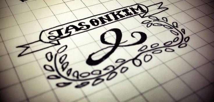 Practice logo Calligraphy by jason kim