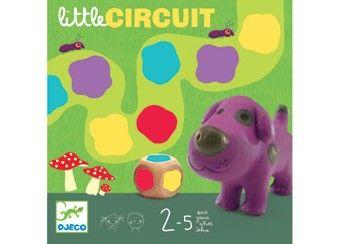 grappig peuterspel 'little circuit' DJECO | kinderen-shop Kleine Zebra