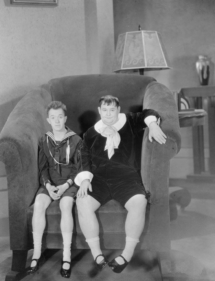 Laurel and Hardy Brats (1930)