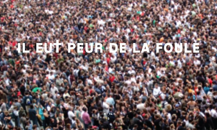 1 août 2015 - « Il eut peur de la foule »  Évangile de Jésus Christ selon saint Matthieu 14,1-12