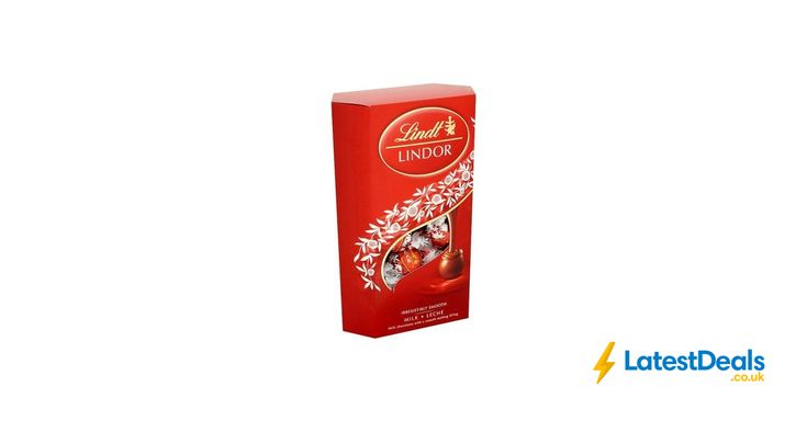 Lindt Lindor Milk Chocolate Box Selection 337g Free C&C, £5.50 at Superdrug