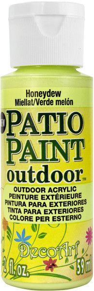patio paint 2 ounces-honeydew