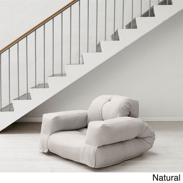 Fresh Futon Hippo Convertible Futon Chair / Bed | Overstock.com Shopping - The Best Deals on Bean & Lounge Bags