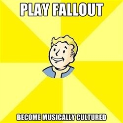 Fallout 3 - Play fallout Become musically cultured