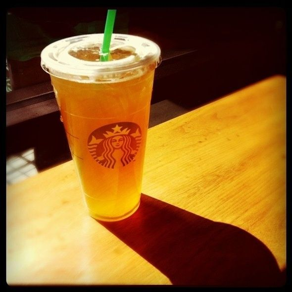 Starbucks Iced Tazo Green Tea Lemonade.  Amazing.  Just tried it for the first t