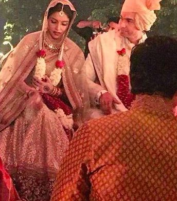 Sneak Peek into actress #Asin's wedding with Micromax co-founder, #RahulSharma! on 19th Jan 2016 in New Delhi. It was close knit wedding ceremony where limited friends and family were invited with strict restrictions for the media to barge in.