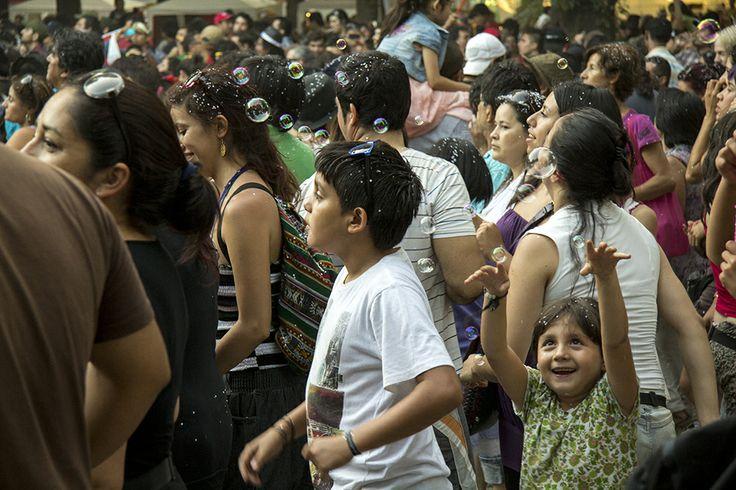 Fiesta de los abrazos (Santiago de Chile, 2012)