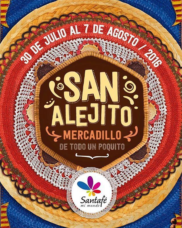 Ven a disfrutar mi deliciosa #TortaNegraDeLaTíaBlanca en el #SanAlejito de @santafemedellin Estaremos desde el 30 de Julio hasta el 7 de agosto #FeriaDeLasFlores #Medellín