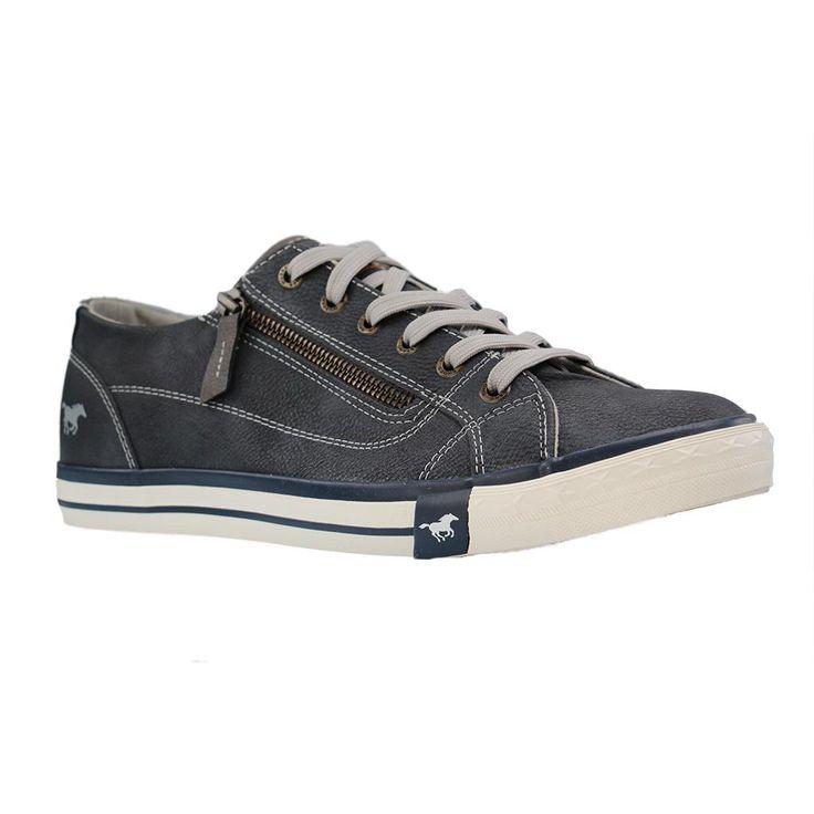 MUSTANG - 1146-302 - Damen Sneaker - Blau Schuhe in Übergrößen Größe 44